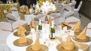 Reception wedding centerpiece