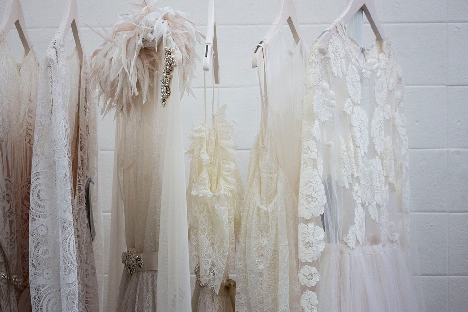 Wedding dresses to be hired