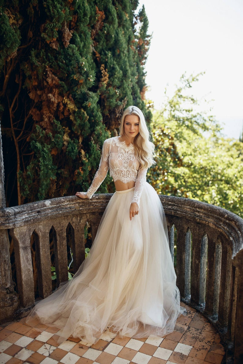 two-piece-wedding-gown-etsy