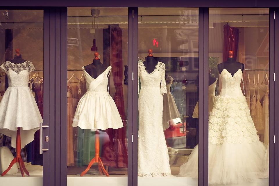 Different types of wedding dress
