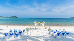 Wedding venue by the ocean