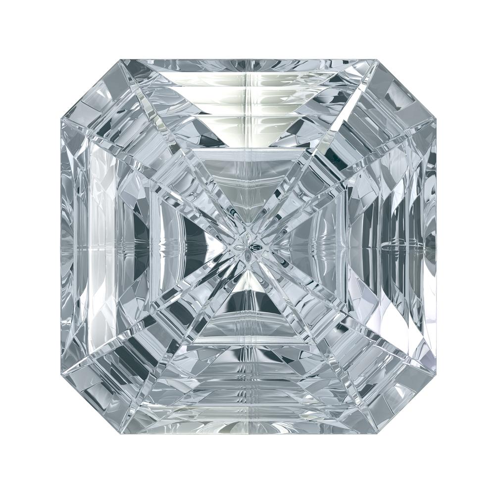 Diamond Asscher cut