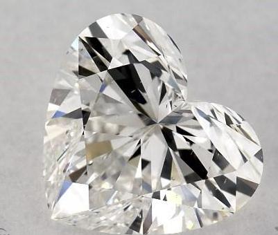 Bow tie on heart shape diamond