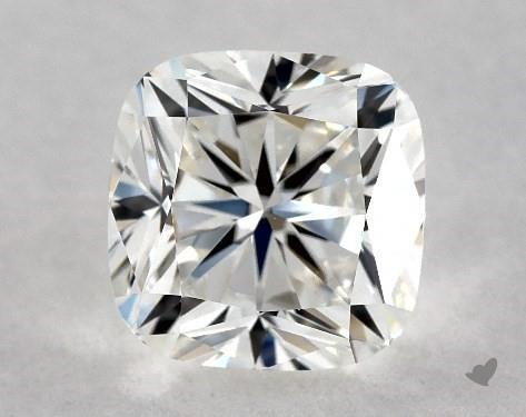 Cushion cut true hearts diamond from James Allen