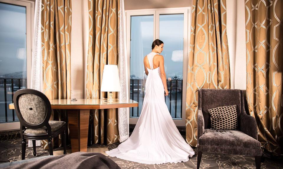 Fashion wedding photograph
