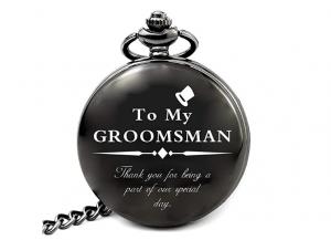 Groomsmen pocket watch gift
