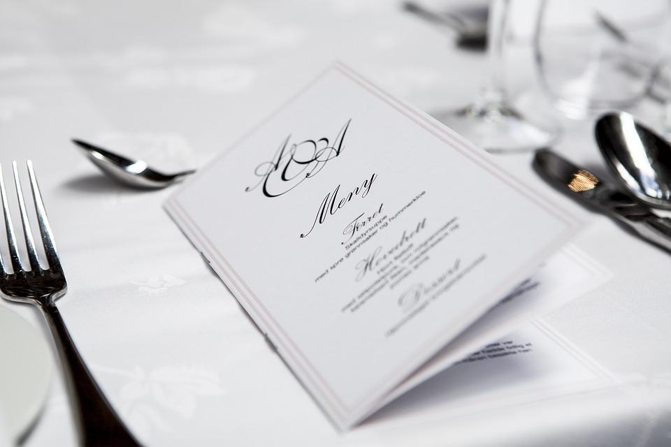 How to choose wedding dinner