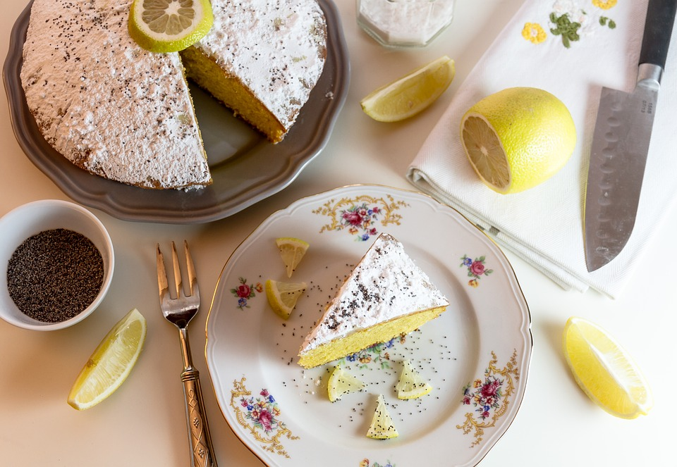 Lemon cake flavor