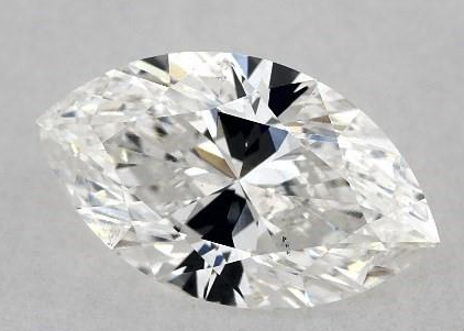 Marquise shape diamond with bow tie