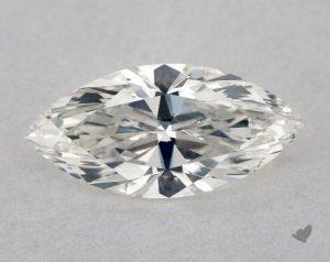 marquise shape diamond close up