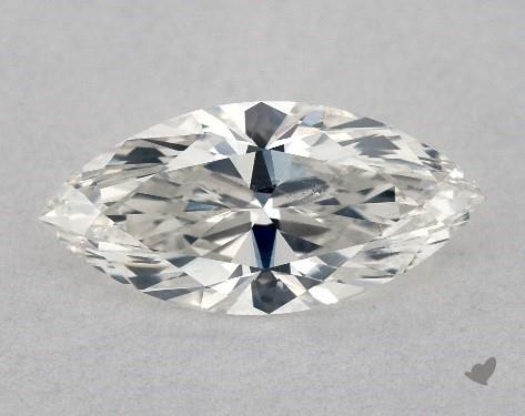 marquise shape diamond close up