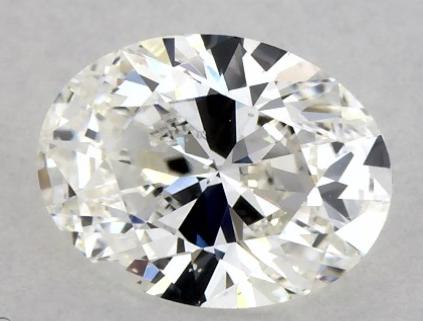 oval shape diamond with bow tie
