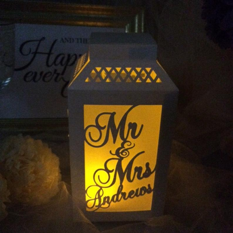 Personalized table lamp