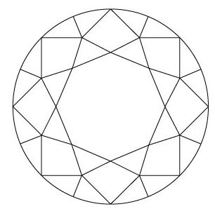 Round diamond diagram