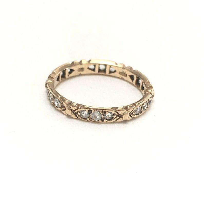 Beautiful Victorian wedding ring
