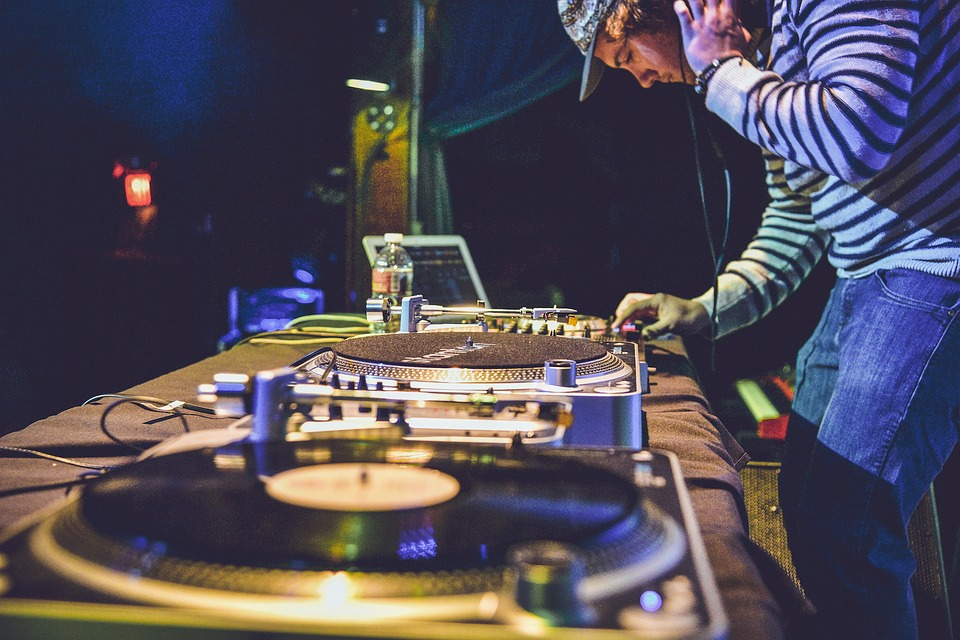 DJ performing in a wedding