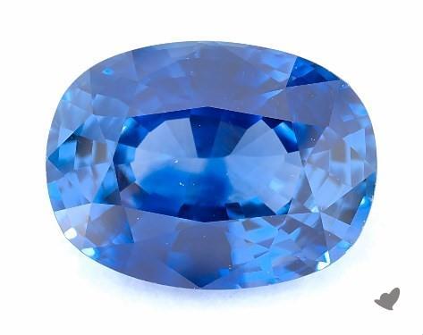 Blue sapphire loose