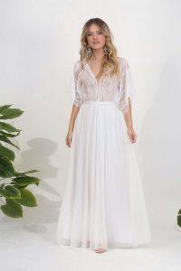 Breathable wedding dress