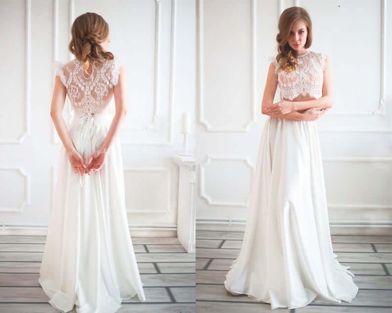 Bridal separates wedding dress style