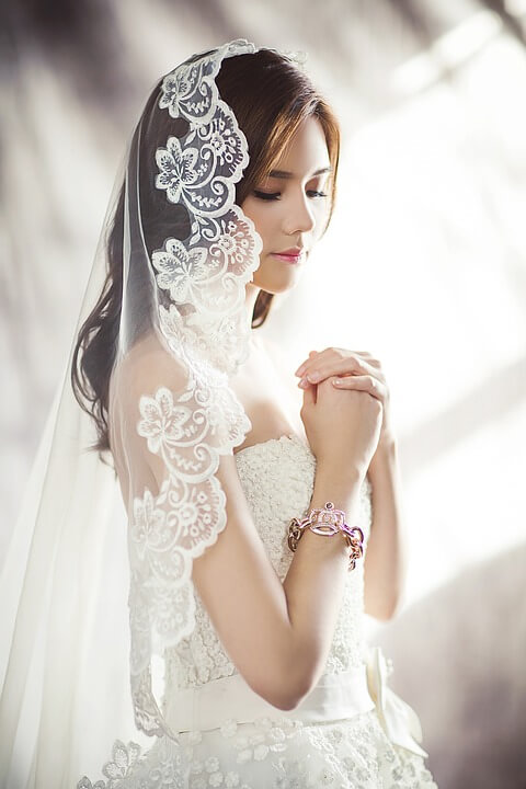 how to choose lace for your wedding dress