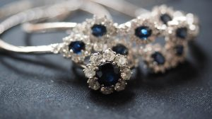 Blue sapphire rings