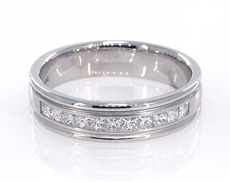 men's platinum diamond ring