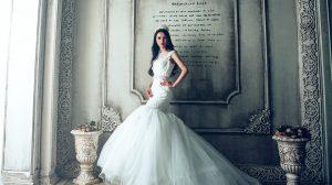 Mermaid or trumpet wedding dress