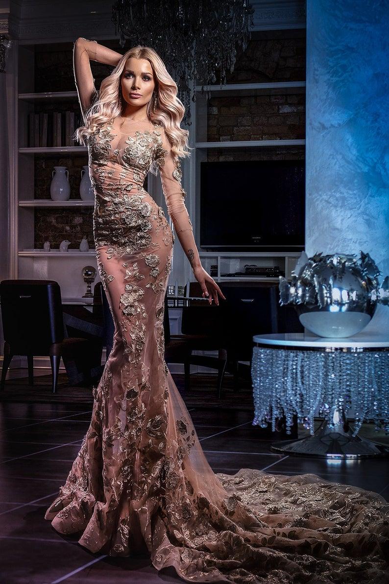 sexy-wedding-dress=-etsy