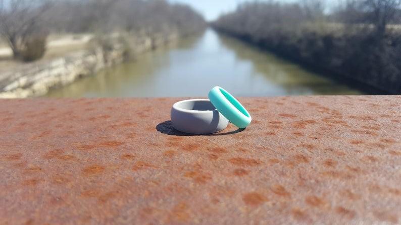 Silicon wedding rings