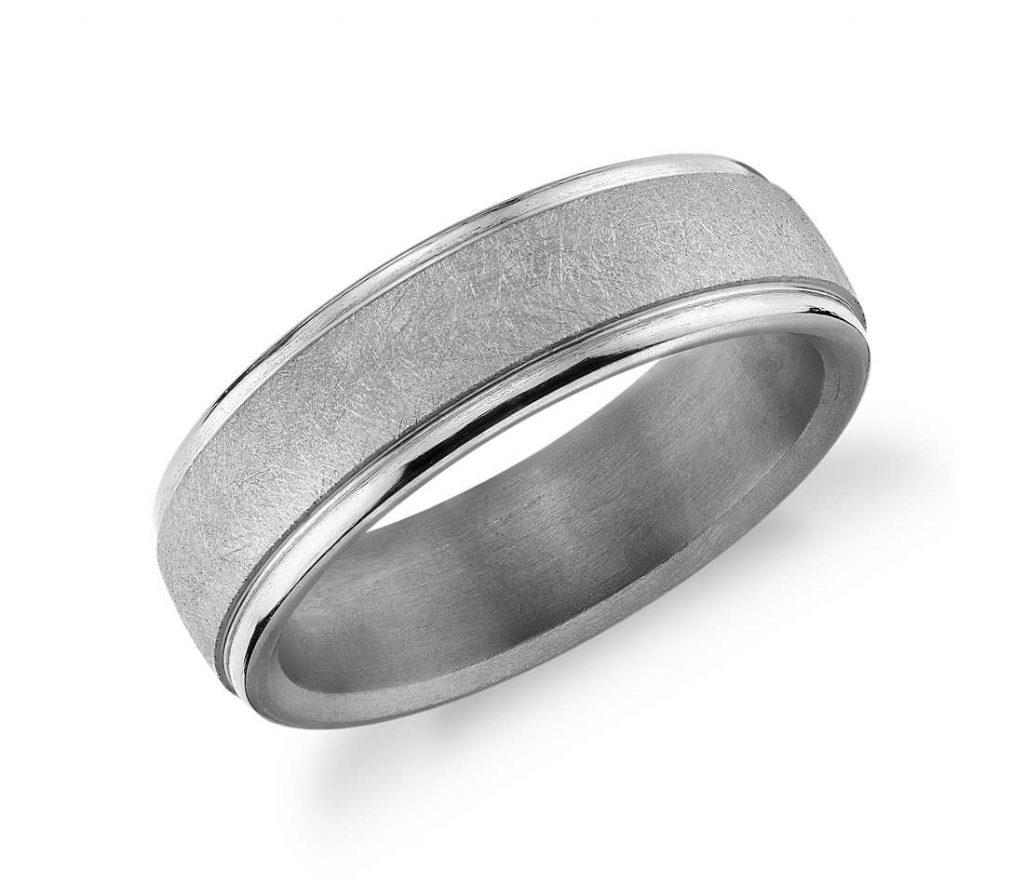 Tantalum wedding ring