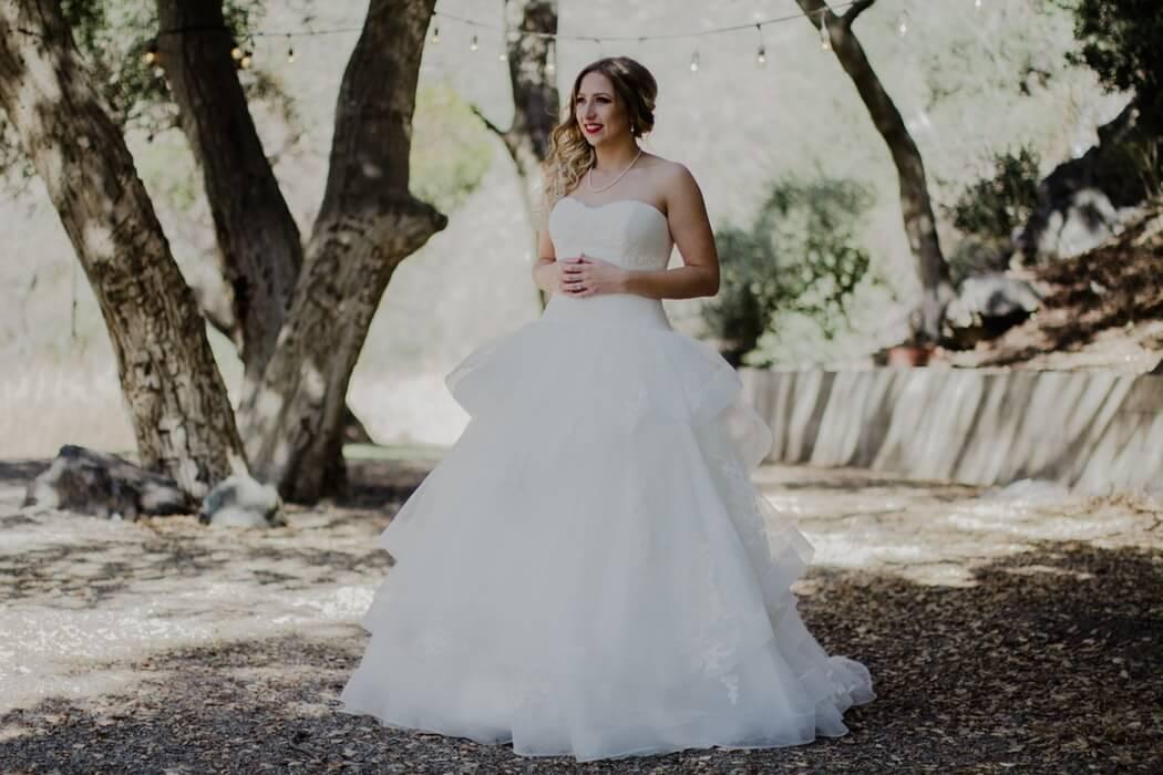Types of wedding dress neckline