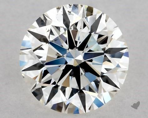 earth minded round shape diamond