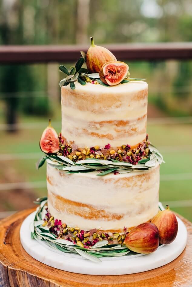 Fig wedding cake