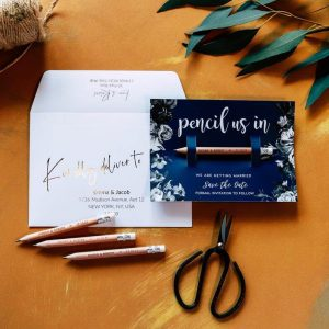 Pencil save the date