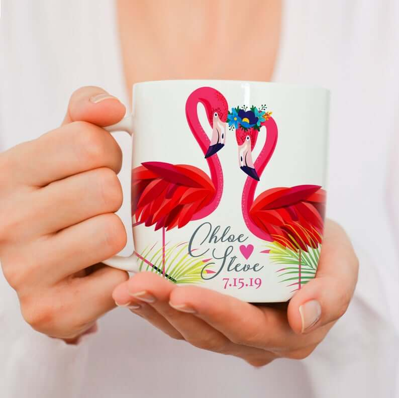 Mug as save the date
