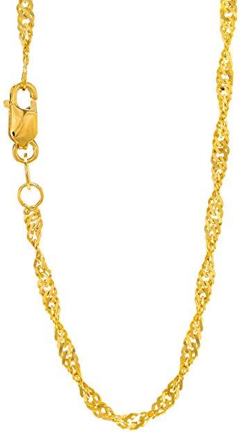 Singapore gold chain
