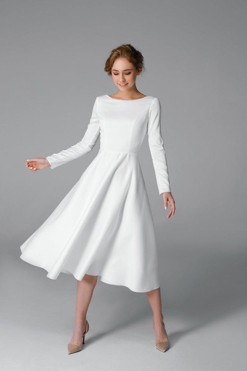 tea-length-minimalist-dress