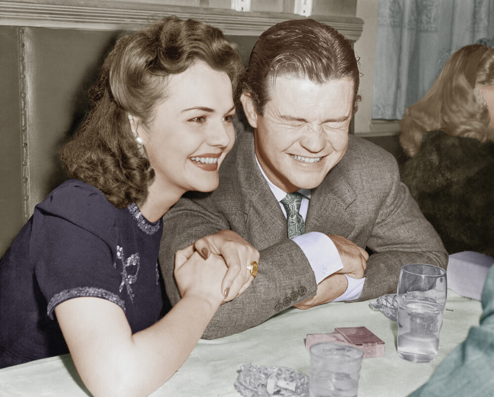 Couple from 1940s
