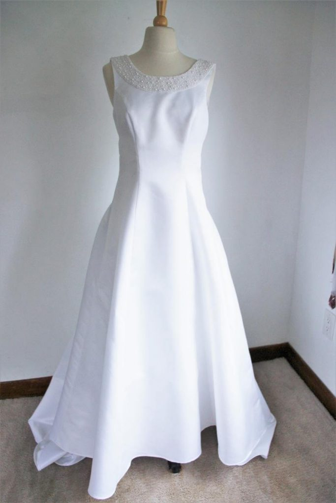 1990s wedding dress