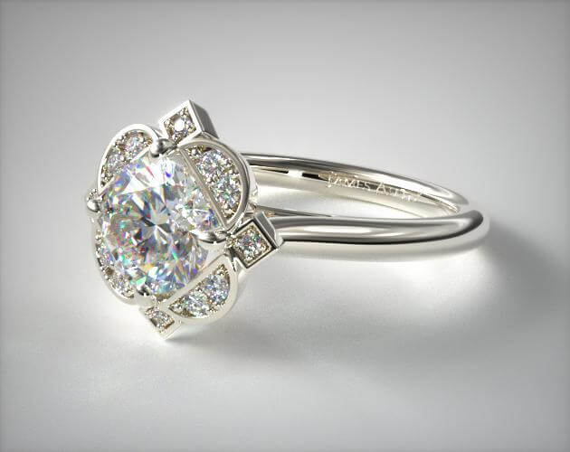 Art deco ring from 1920s