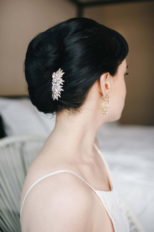 bridal comb for hair accessory