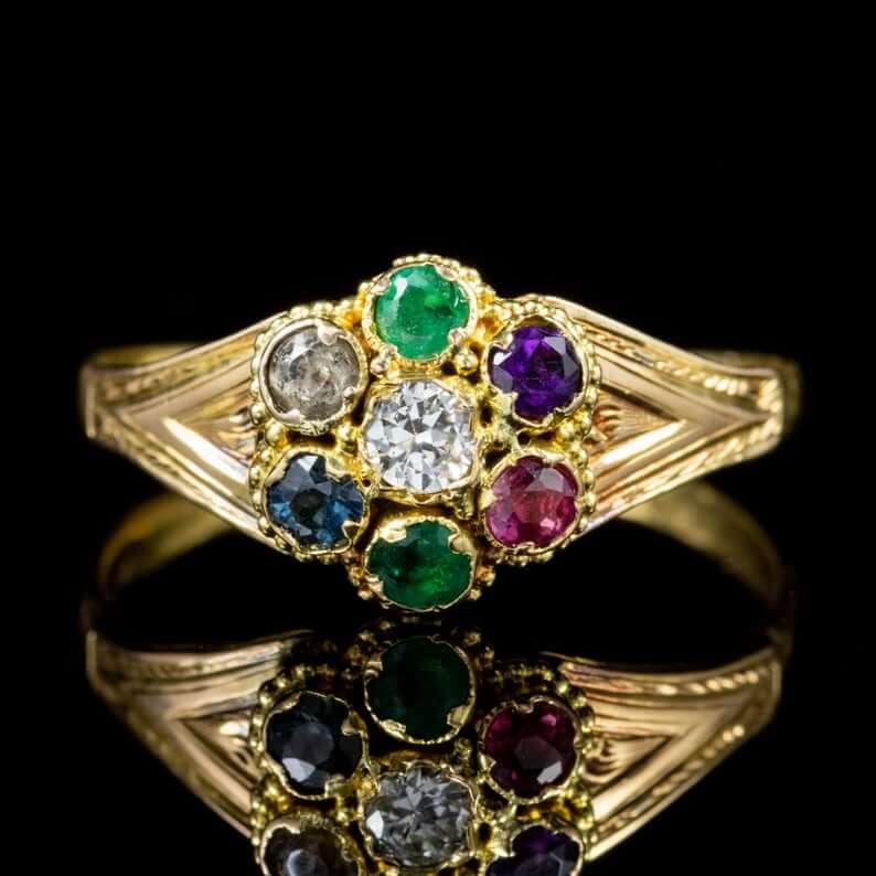 Dearest Victorian ring