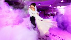 Couple dancing to ed sheeran song at their wedding