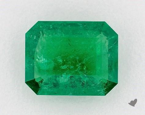 Emerald shape loose emerald