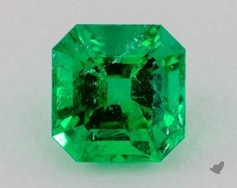 Cushion cut emerald loose