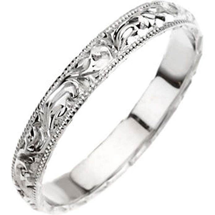 engraved ring, very nice engagement ring without stone