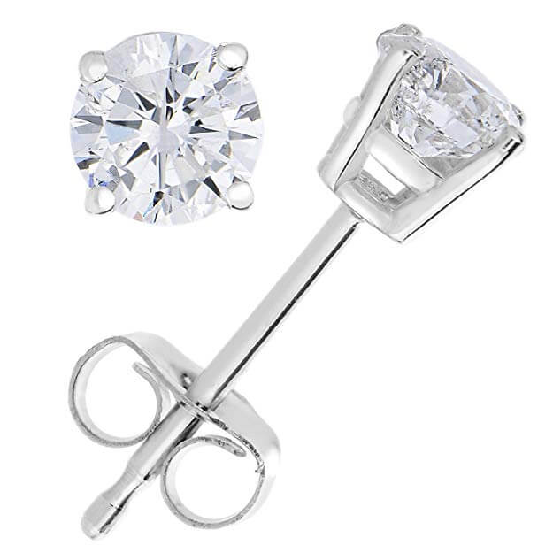 Friction backing diamond stud