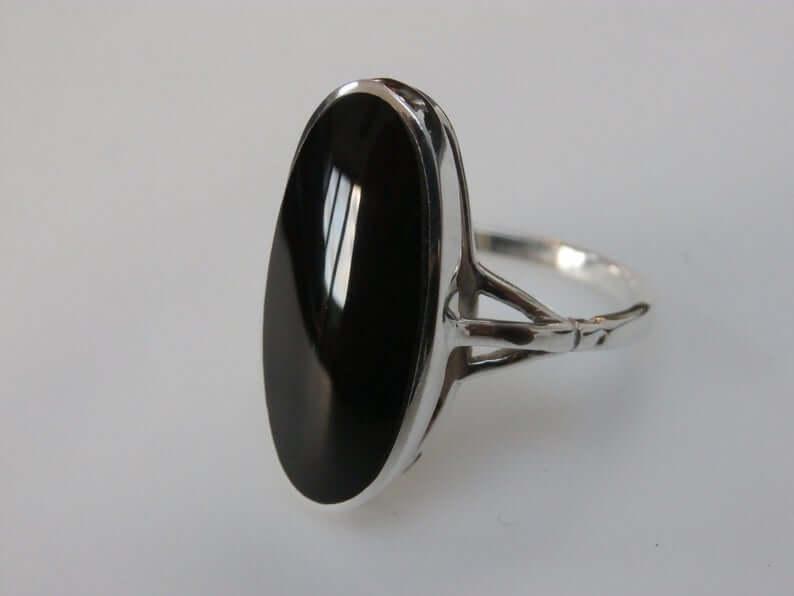 Black Jet ring