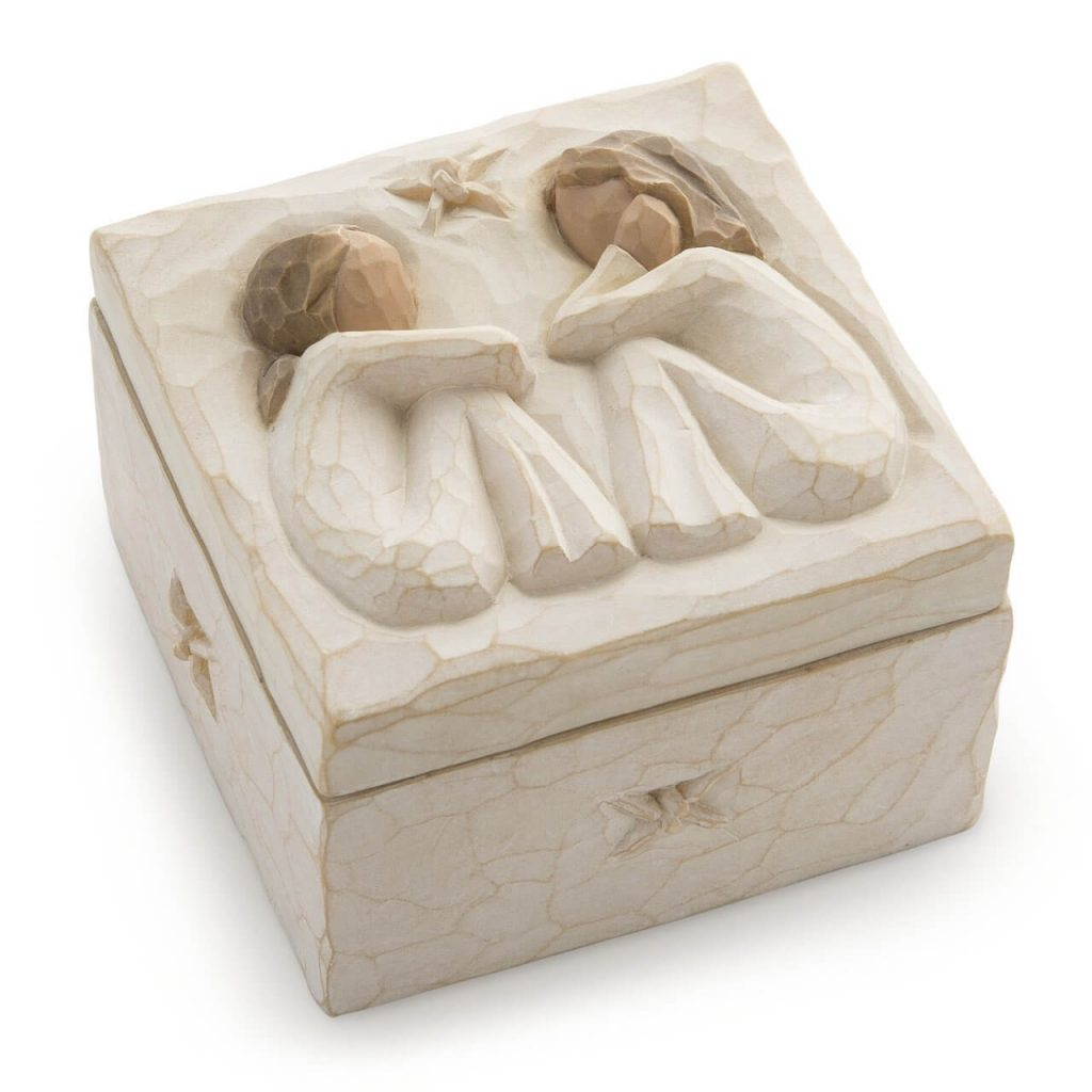 Keepsake angel box-