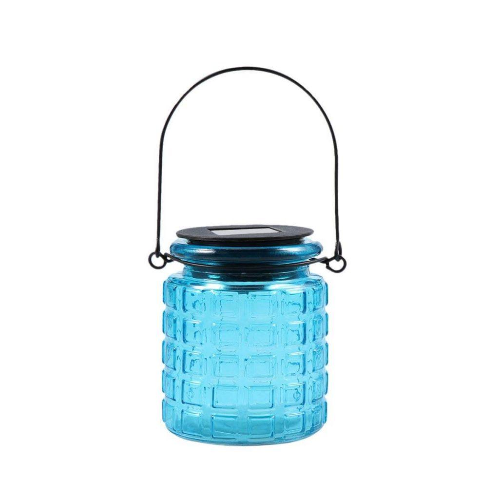 Mason jar night lamps wedding favors